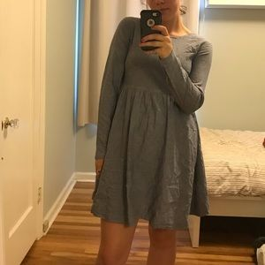 Like new asos chambray babydoll dress